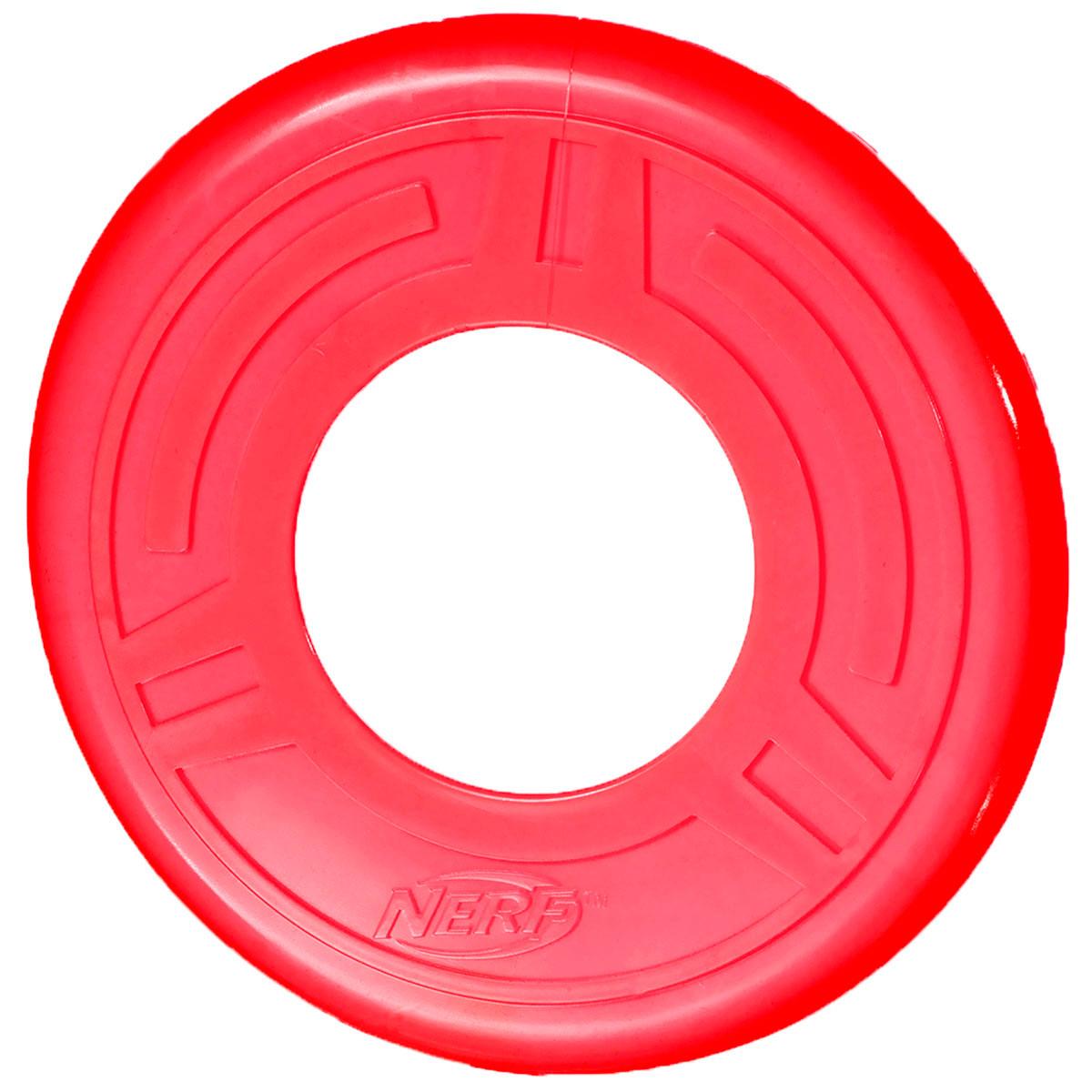 Игрушка для собак Летающая тарелка Nerf Диск для фрисби 25 см (1 шт) спортивный инвентарь наша игрушка летающая тарелка 20 см 635609