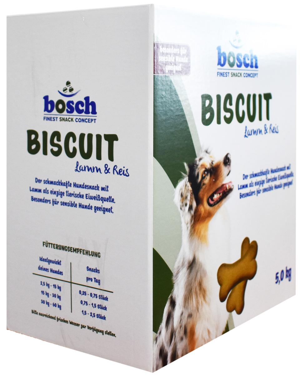 Лакомство Bosch Biscuit Lamm & Reis для собак при аллергии (5 кг)