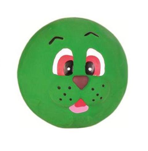Trixie игрушка для собак из набора «Лица», с пищалкой (6 см)