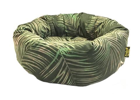 Pride лежак ватрушка Джангл темно-зеленая 53 х 20 см (1 шт)