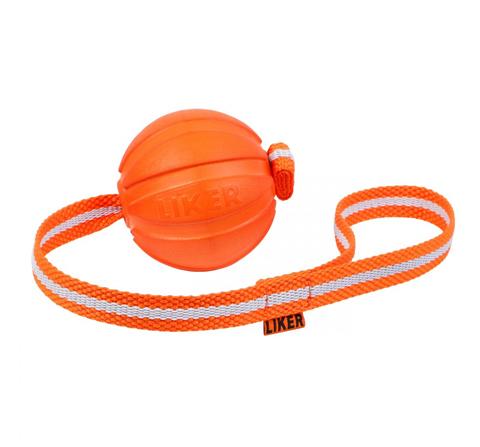 Мяч Лайкер Лайн на ленте для собак 7 см Collar (1 шт)