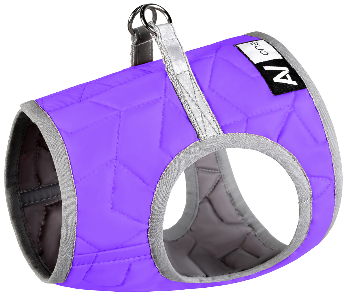 Шлея мягкая для собак Collar AiryVest One фиолетовая (xs2) шлея мягкая для собак collar airyvest one салатовая xs2