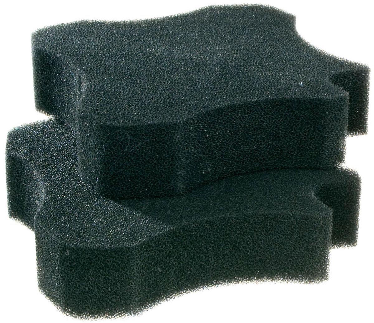 Набор губок карбоновых Bluclear для внешнего фильтра Ferplast BluExtreme 1500 уп. 2 шт (1 шт) набор резиновых уплотнителей для внешних фильтров ferplast bluextreme 700 1100 1 шт