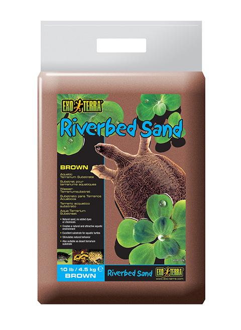 Грунт песок для террариума Exo Terra коричневый