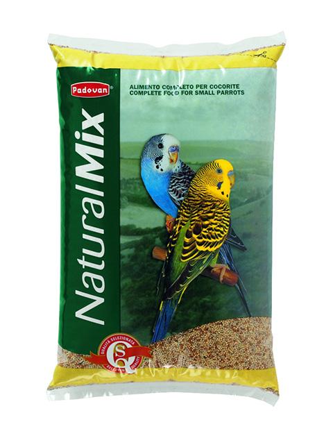 Padovan Naturalmix Cocorite корм для волнистых попугаев (5 кг)