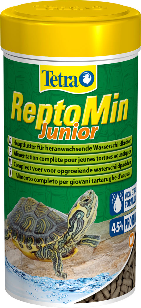 Tetra Reptomin Junior корм палочки для молодых
