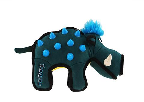 Игрушка для собак Дюраспайк-Кабан особо прочный с резиновыми вставками 26 см GiGwi Duraspikes (1 шт)