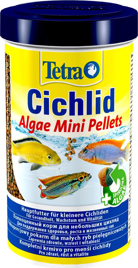 Tetra Cichlid Algae Mini Pellets — Тетра