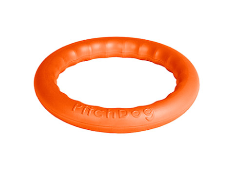 Кольцо для апортировки оранжевое 28 см PitchDog (1 шт)