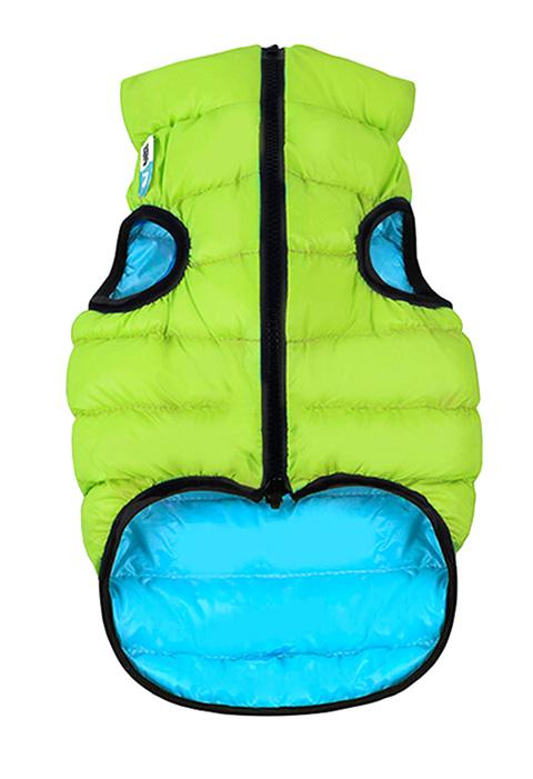 Куртка для собак Collar AiryVest двусторонняя салатово-голубая (xs22)