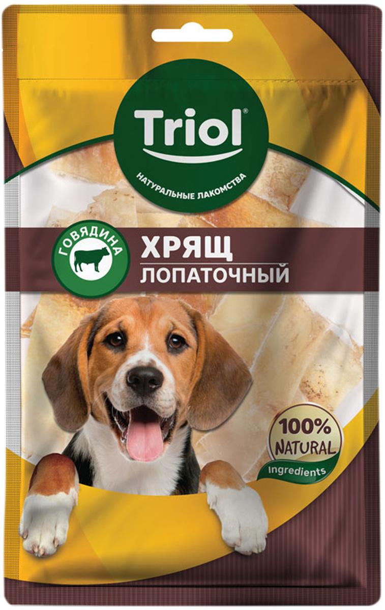 Лакомство Triol для собак хрящ лопаточный говяжий 50 гр (1 шт)
