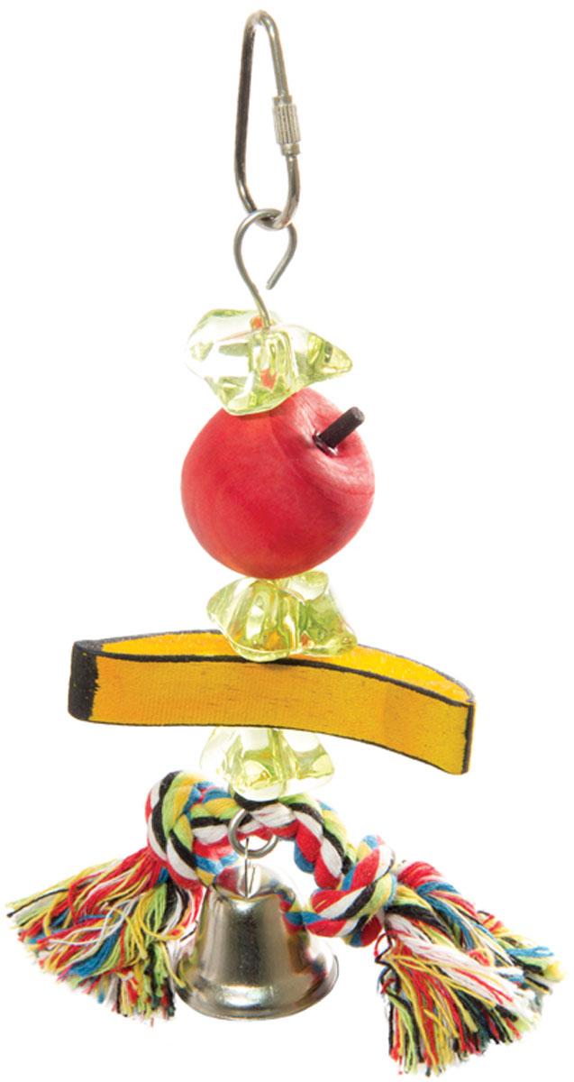 Игрушка для птиц Triol Ветка с фруктами (1 шт) игрушка для птиц triol br43 ромашки 19 см