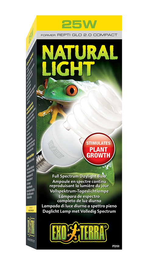 цена на Ультрафиолетовая лампа Exo Terra Natural Light (Repti Glo 2.0) Compact (13 Вт)