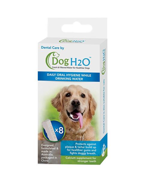 цена на Таблетки для гигиены полости рта Dental Care для автопоилок Feed-Ex DogH2O и CatH2O (уп. 8 шт) (1 шт)