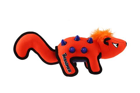 Игрушка для собак Дюраспайк-Скунс особо прочный с резиновыми вставками 35 см GiGwi Duraspikes (1 шт)