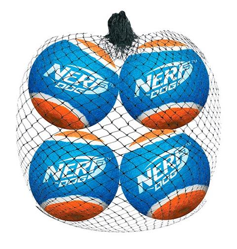 Nerf мячи теннисные для бластера, 6 см (уп. 4 шт) (1 шт)
