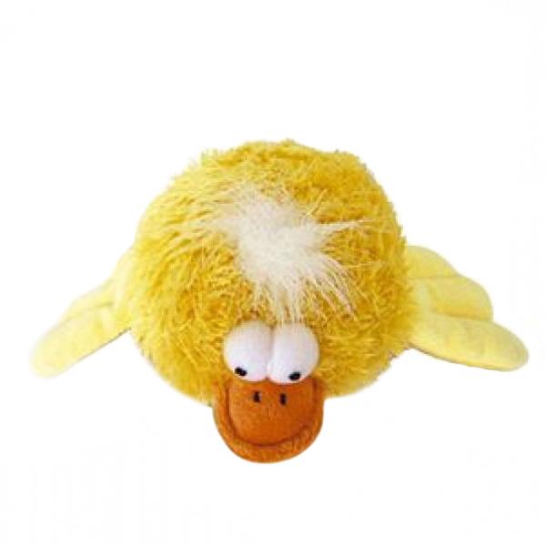 Игрушка для собак GiGwi Утка с пищалкой 12 см (1 шт)