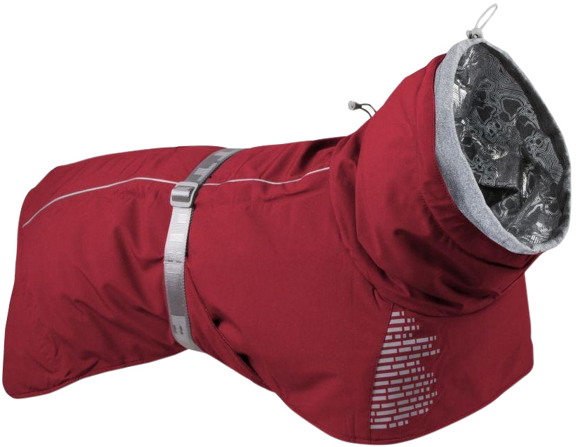 Hurtta Extreme Warmer куртка-попона для собак теплая красная (55)