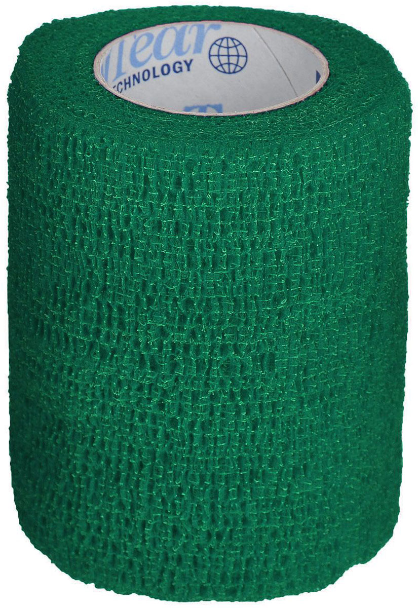 Фото - Бандаж Andover PetFlex Зеленый 7,5 см х 4,5 м (1 шт) aravia бинт для обертывания organic тканый 10 см х 10 м 1 шт