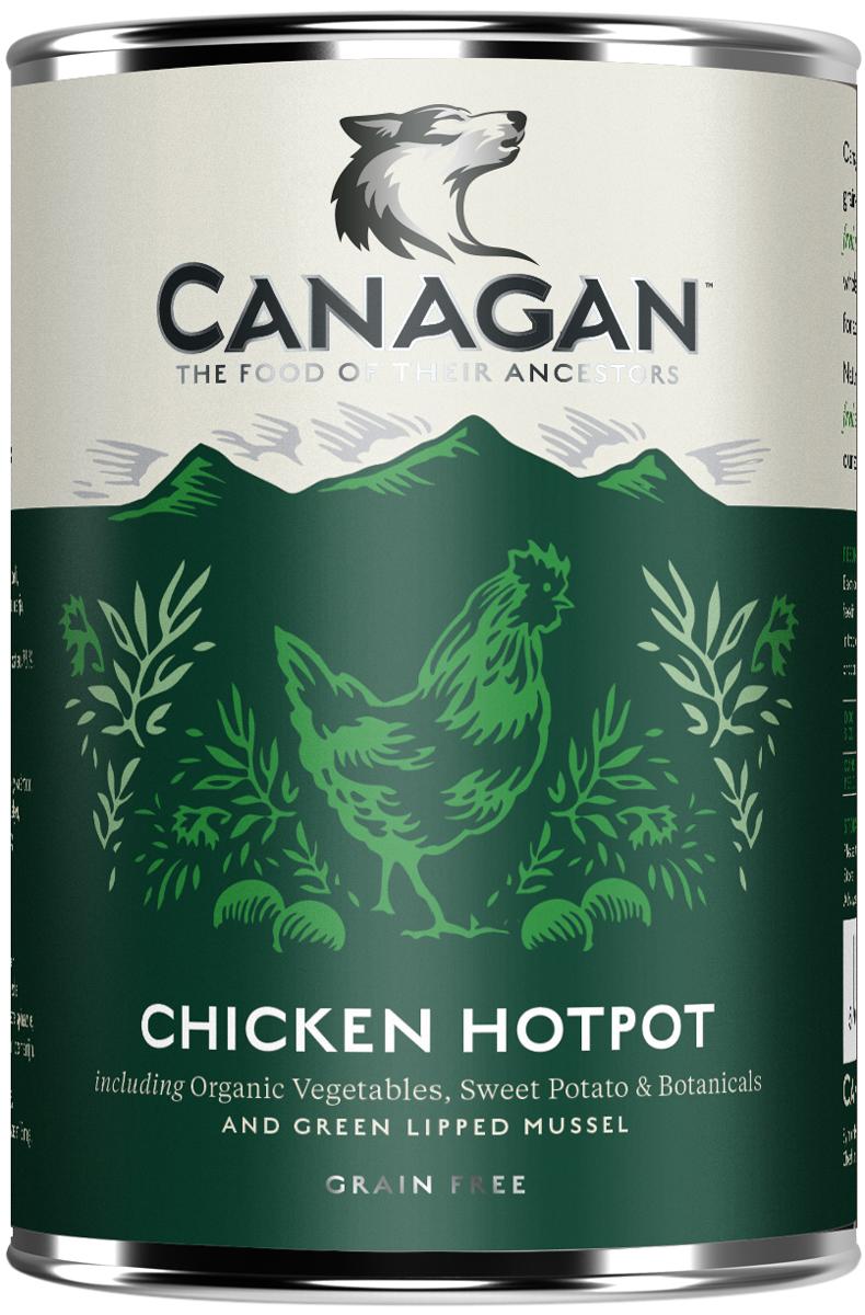 Canagan Grain Free Chicken Hotpot для взрослых собак с куриным рагу 400 гр (400 гр)