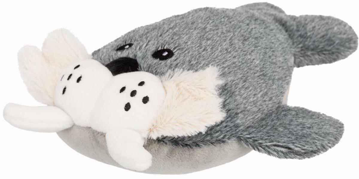 Игрушка для собак Trixie Be Nordic Морж Тиль плюш полиэстер с пищалкой 28 см (1 шт)