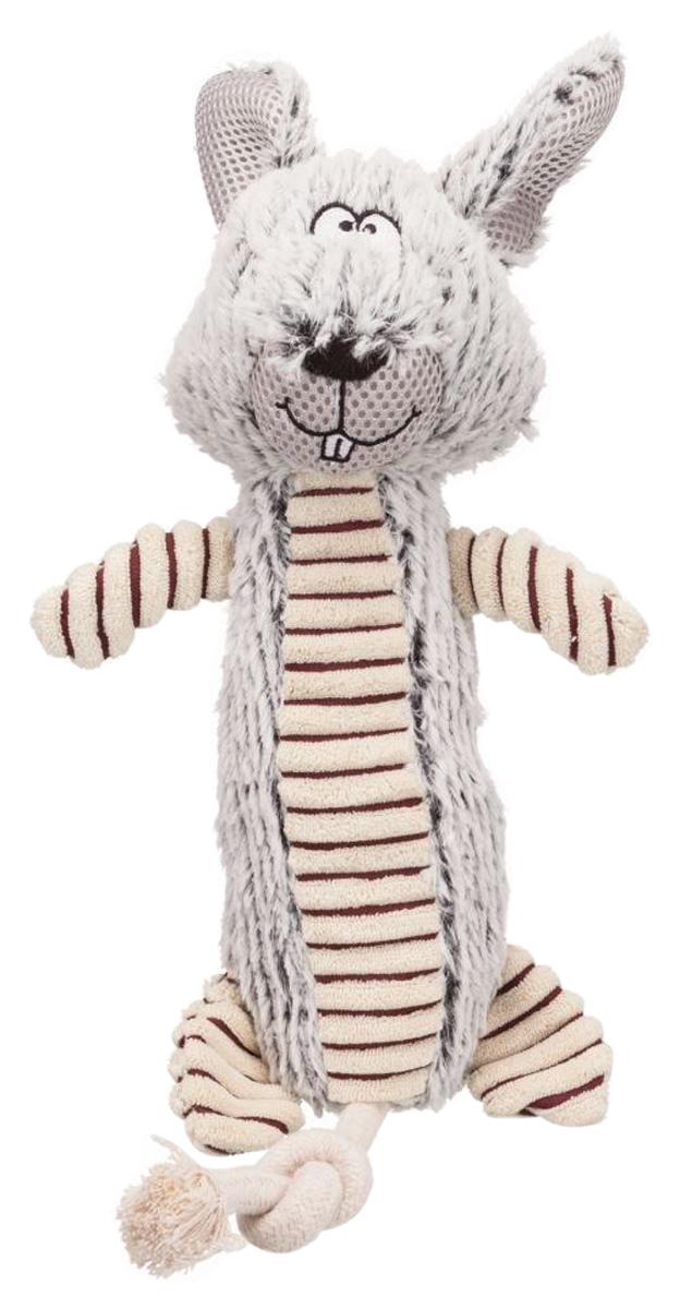 Игрушка для собак Trixie Кролик плюш полиэстер с пищалкой 35 см (1 шт)