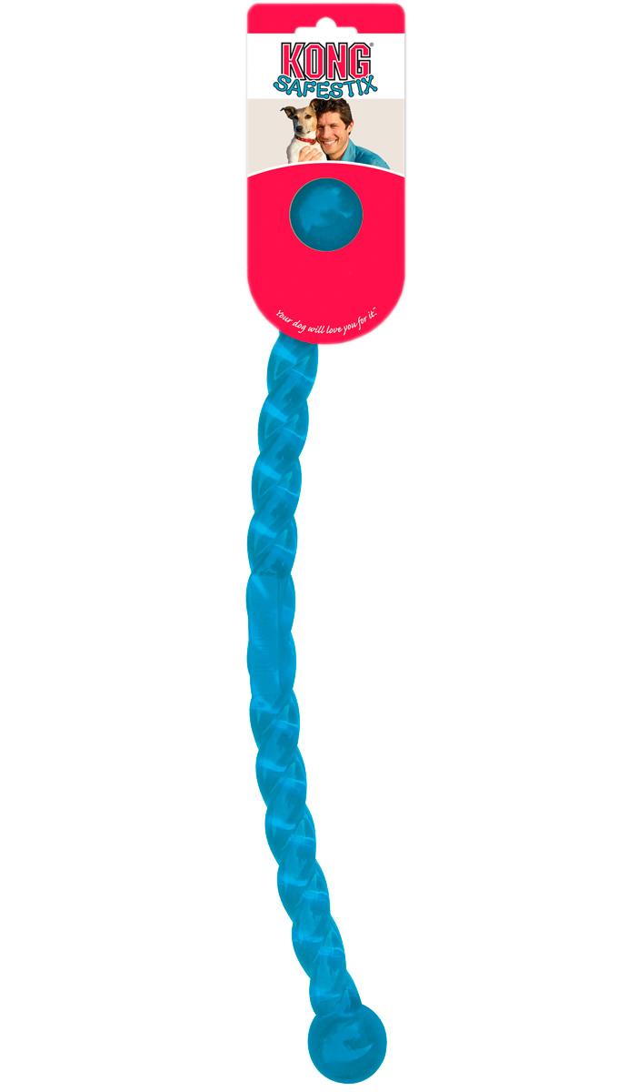 Игрушка апортировка для собак Kong Safestix средняя 45 см  (1 шт)