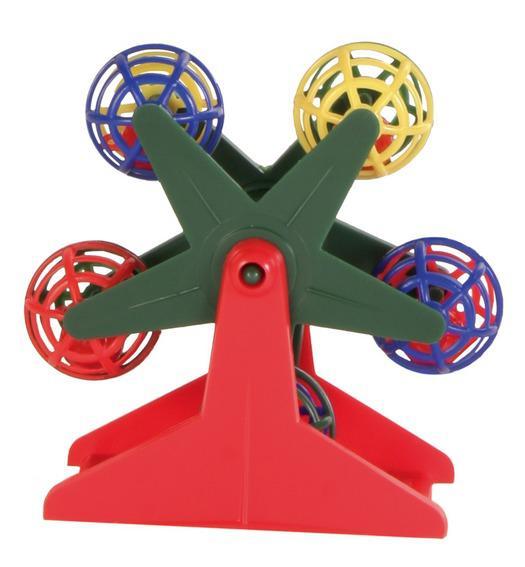 Игрушка для птиц Trixie Карусель с шариками