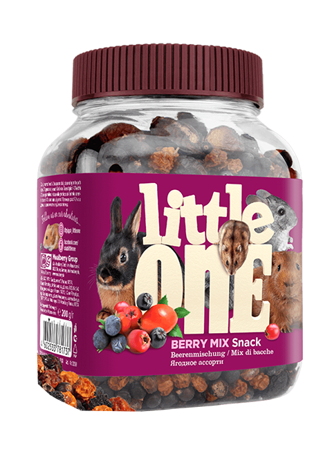 Little One Snack Berry Mix лакомство для грызунов Ягодное ассорти (200 гр)