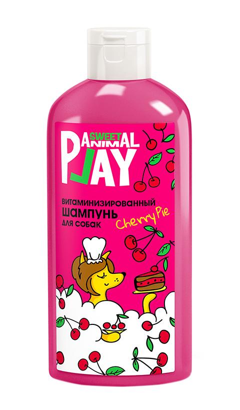 Animal Play Sweet шампунь для собак и кошек витаминизированный Вишневый пай (300 мл)
