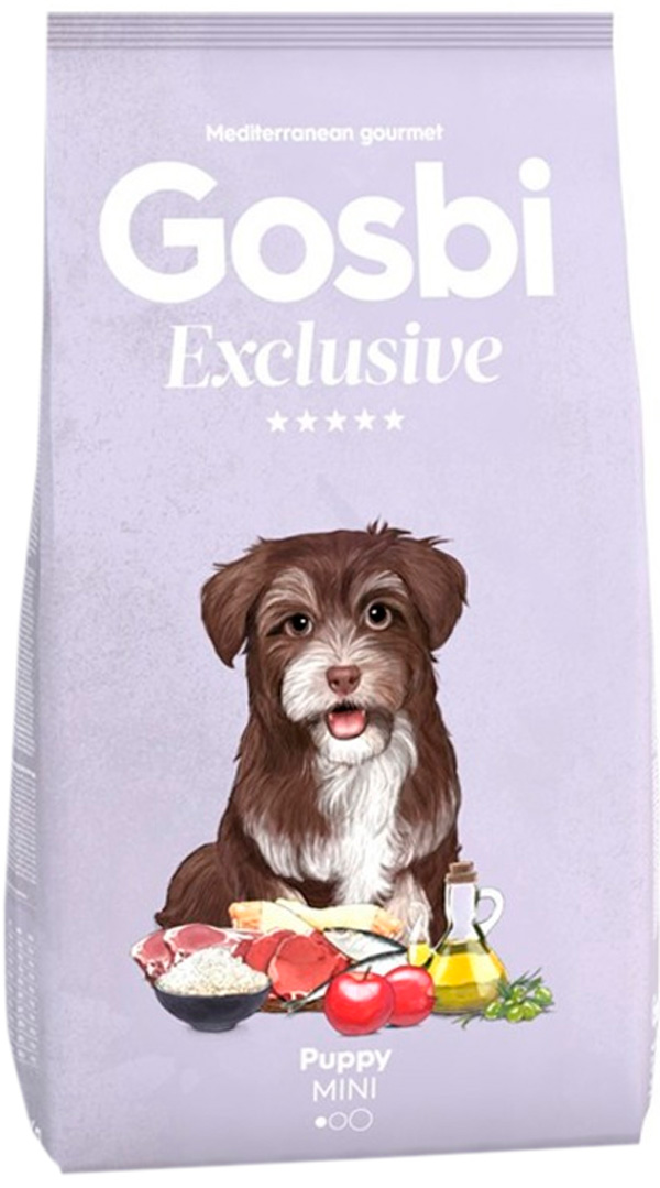 Gosbi Exclusive Puppy Mini для щенков маленьких пород с курицей (2 кг) фото