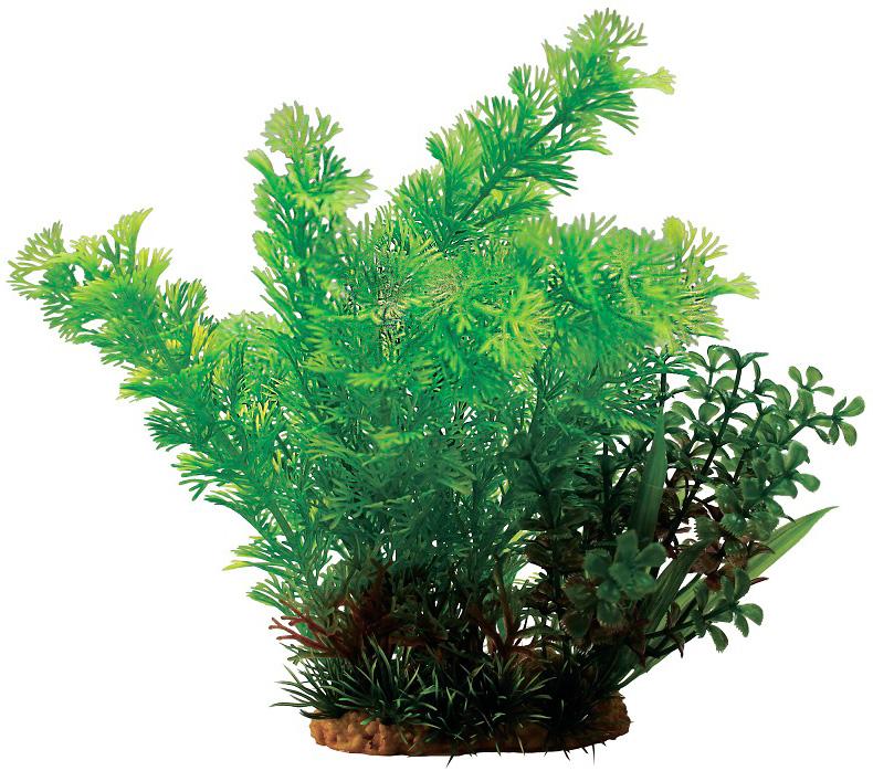 Композиция из пластиковых растений для аквариума Prime Pr-60207 20 см (1 шт) 0 pr на 100