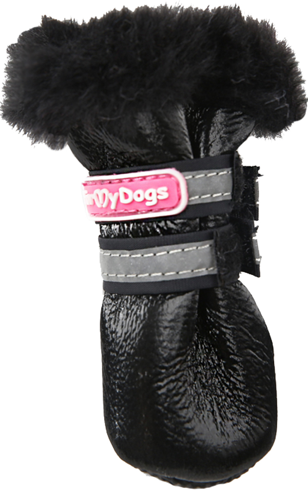 For My Dogs сапоги для собак зимние черные Fmd651-2019 Bl (4)