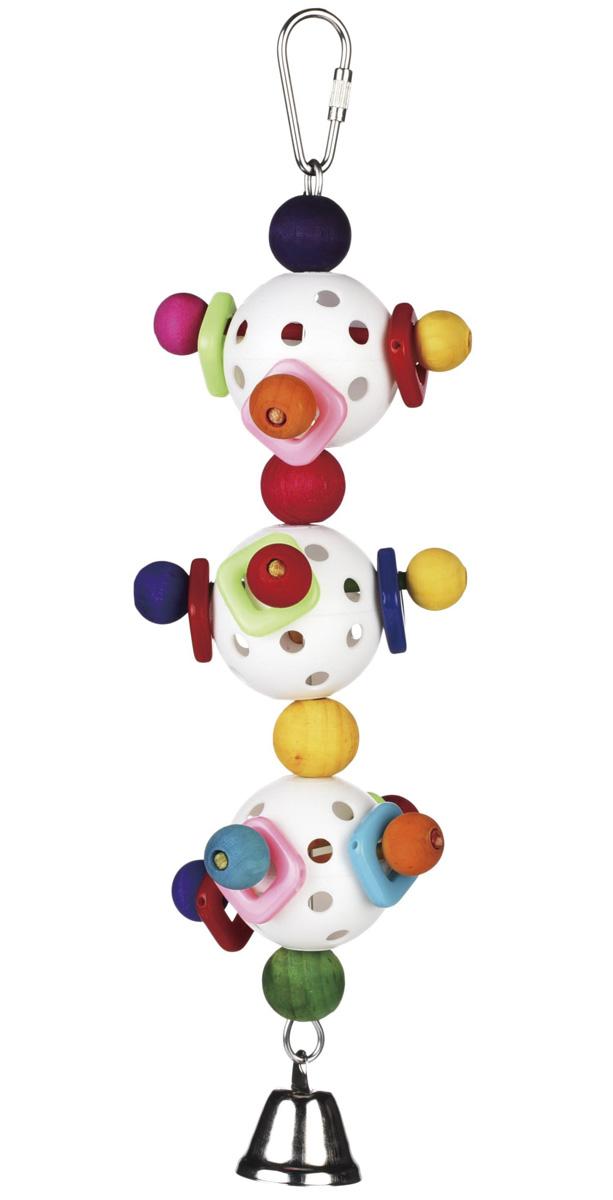 Игрушка для птиц Briko Шарики светофор (1 шт) игрушка