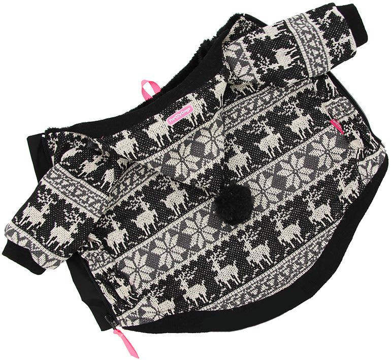 For My Dogs куртка для собак Сканди черная Fw642-2018 Bl (14)