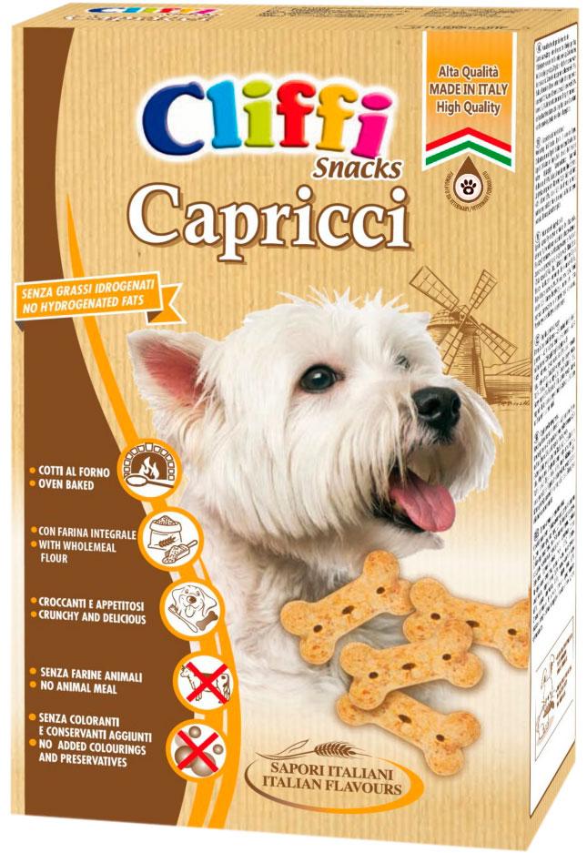 Лакомство Cliffi Capricci для взрослых собак всех пород косточки хрустящие 400 гр (1 шт)