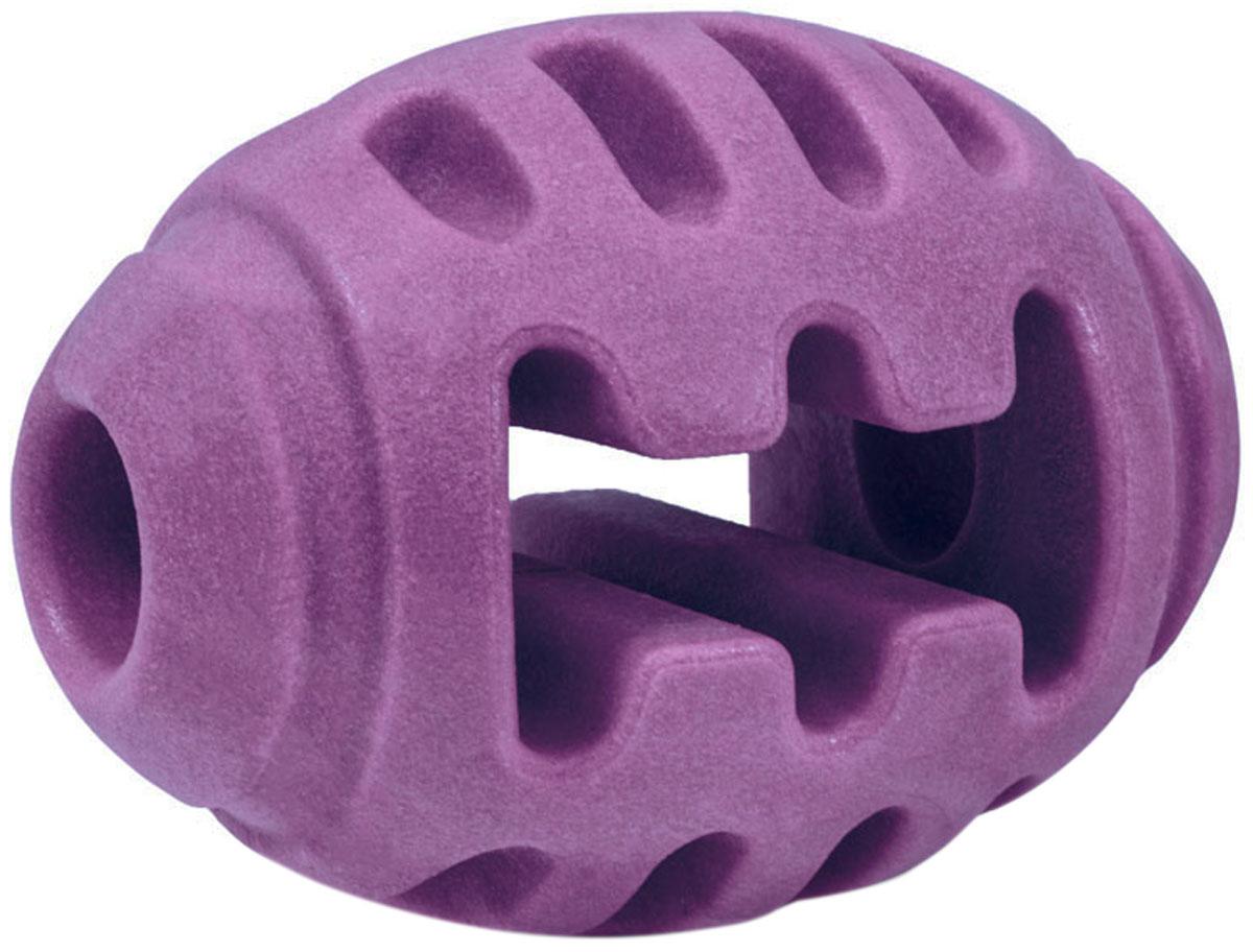 Игрушка для собак Triol Aroma Мяч для регби термопластичная резина 8 см (1 шт)