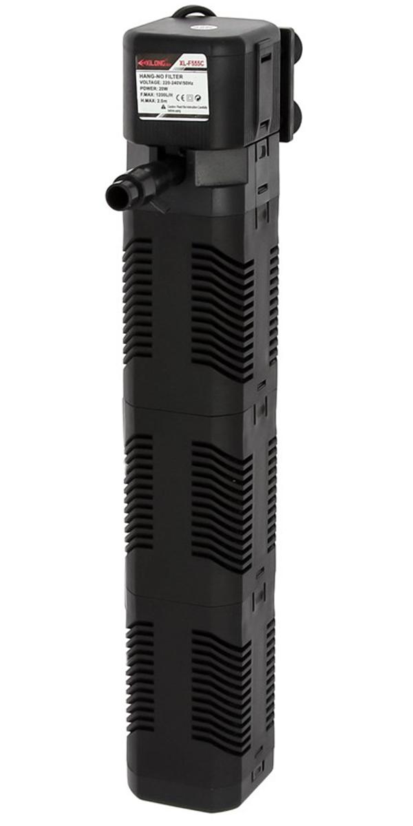 Внутренний фильтр Xilong Xl-f555c 20Вт, 1200 л/ч, для аквариумов объемом 120 л (1 шт) внутренний фильтр xilong xl f280 30 вт 1800 л ч для аквариумов объемом до 400 л 1 шт