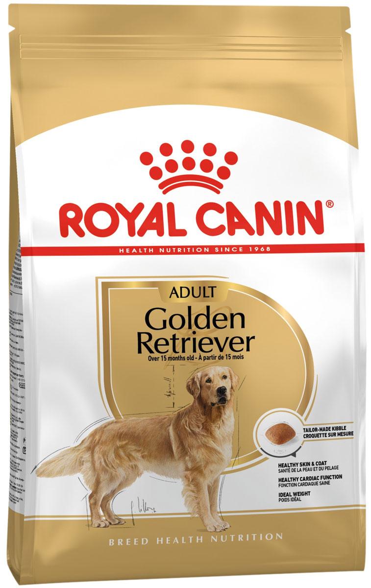 Royal Canin Golden Retriever Adult для взрослых собак голден ретривер (12 + 12 кг)