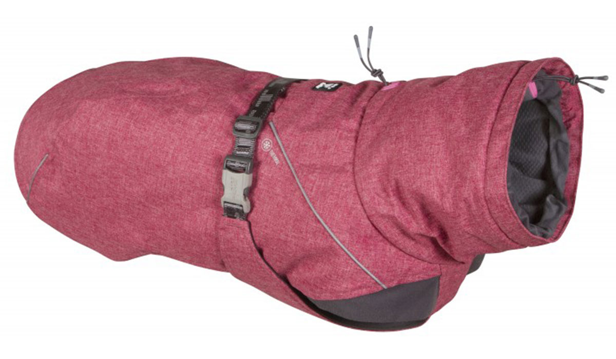 Hurtta Expedition Parka куртка для собак теплая красная (30)