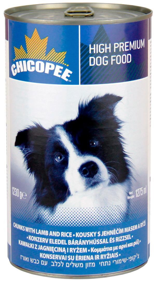 Chicopee Dog для взрослых собак с ягненком и рисом (1230 гр)