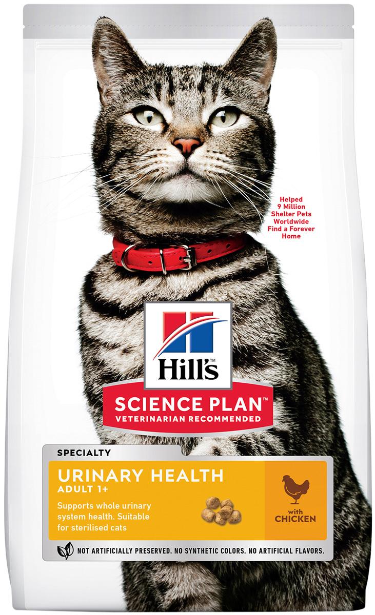 Hill's Science Plan Urinary Sterilised Cat Chicken для взрослых кастрированных котов и стерилизованных кошек при мочекаменной болезни с курицей (7 кг) фото