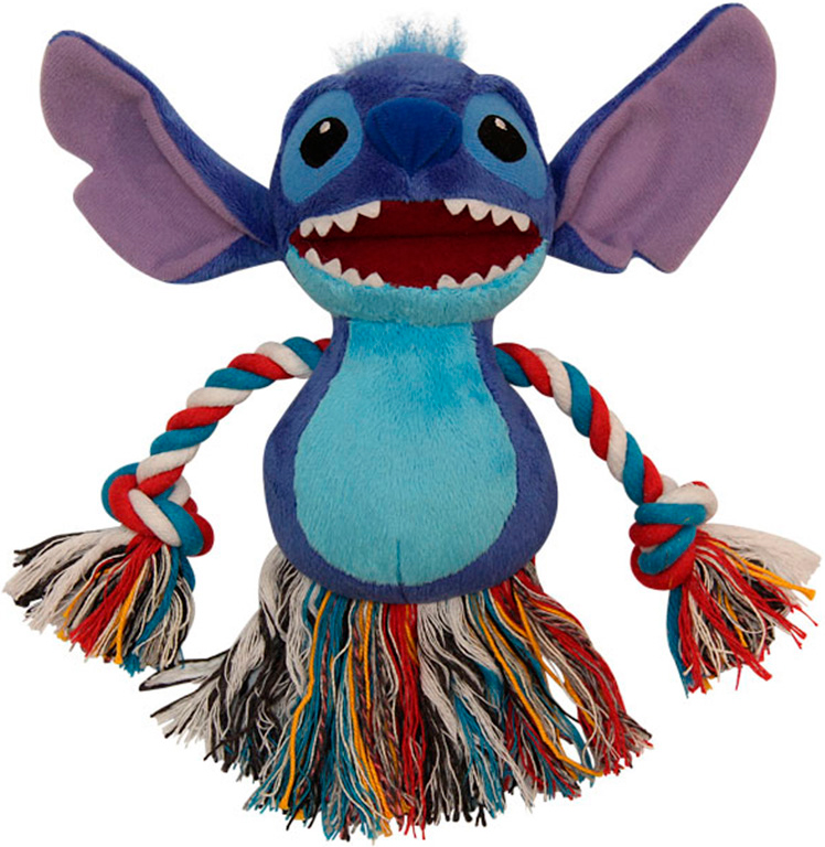 Игрушка для собак Triol Disney Stitch плюш хлопок 15 см (1 шт)