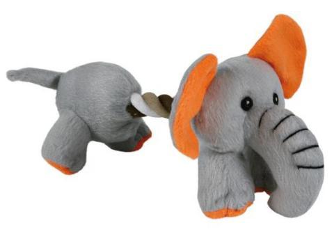 Trixie игрушка для собак плюшевая, с пищалкой (17 см)