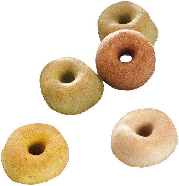 Лакомство Mera Pastellringe для собак всех пород радужные колечки 2,5 кг (1 шт)