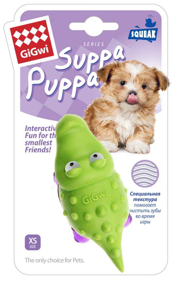 Игрушка для собак GiGwi Suppa Puppa Крокодильчик с пищалкой 10 см (1 шт)