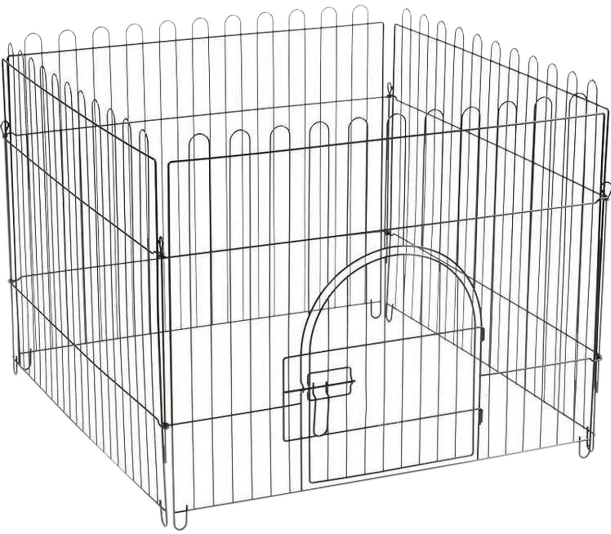 Клетка-вольер для животных Triol K1 4 секции эмаль 84 х 69 см (1 шт)