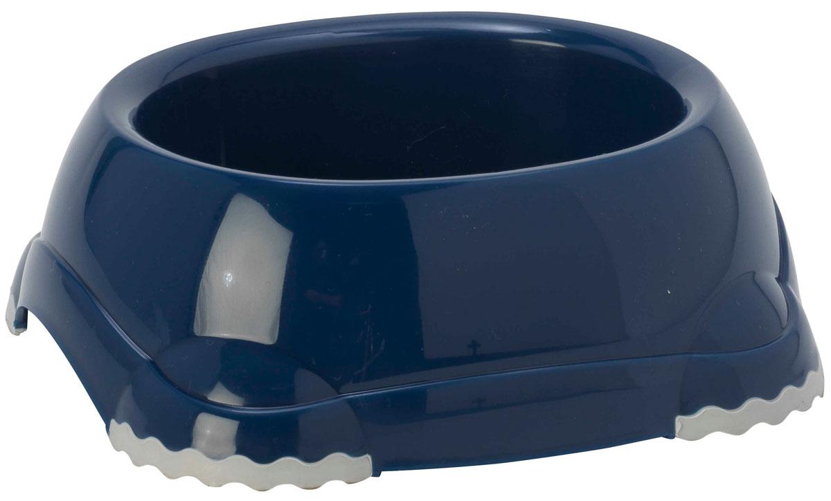 Миска нескользящая Moderna Smarty Bowl пластиковая черника 350 мл (1 шт)