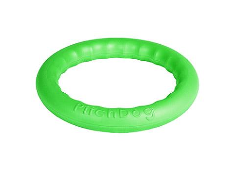 Кольцо для апортировки зеленое 20 см PitchDog (1 шт)