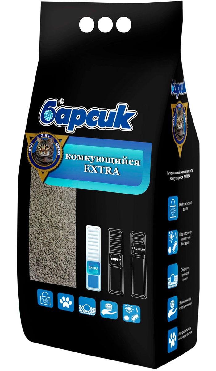 Фото - барсик Extra наполнитель комкующийся для туалета кошек (5,5 л) комкующийся наполнитель